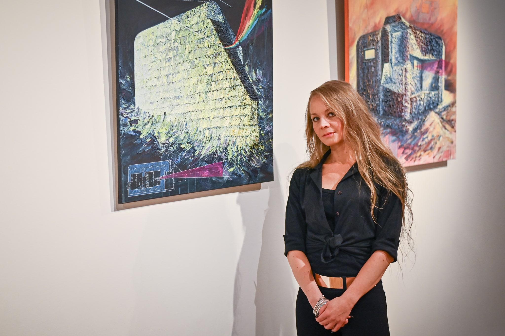Magdalena Barczyk-Kurus, Lekcja anatomii, wystawa 2020, Ośrodek Promocji Kultury Gaude Mater w Częstochowie